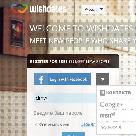 Wishdates lending